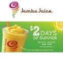 Jamba Juice 实体店:任意16oz 沙冰仅需$2