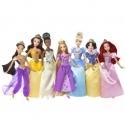 迪斯尼Disney公主玩偶组合