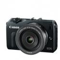 Canon EOS-M无反光镜微单相机,配22mm 镜头