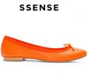 Ssense: Repetto芭蕾舞鞋最高30% OFF