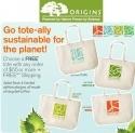 Origins 品木宣言官网:购物满$55可获赠一个环保购物袋(4选1)+ 免运费