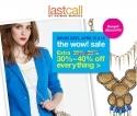 Lastcall by Neiman Marcus 官网限时促销:周末优惠,所有商品可享额外30%至40% OFF 优惠