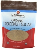 Madhava 有机椰糖,16盎司,6袋装
