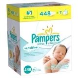 Pampers 帮宝适婴儿湿纸巾,448抽