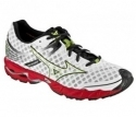 Mizuno Wave Precision 12 Men White/Anthracite/Red $59