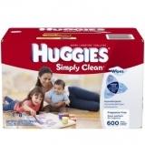 Huggies 无香型宝宝湿纸巾替换装,600片