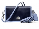 Coach Legacy Achival two-tone Leather Penny Shoulder purse