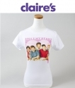 Claires: One Direction乐队图案T恤仅$10