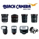 Beach Camera: 佳能镜头 &闪光灯最高$300 Rebate