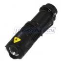 Meritline: Focus Zoom Lens Cree Q3 Flashlight Torch Light Lamp