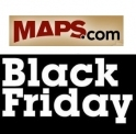 Maps.com Black Friday & Cyber Monday Sale: Up to $35 OFF Buy More Save More Offer