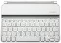 罗技超薄迷你键盘套 白色 专为iPad mini设计