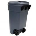 United Solutions 50加仑滚轮垃圾桶