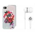 Groupon 团购网:Skinit iPhone 4/4s 手机保护壳及手机贴膜、耳机等超值套装