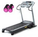 Gold's Gym GG480跑步机和2件套手握哑铃组合