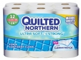 Quilted Northern 超柔卫生纸12个