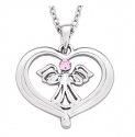 Heavenly Angel Heart Necklace $6.99