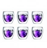Bodum Pavina 双层隔热玻璃杯6只装