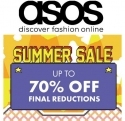 ASOS: 夏季特卖 70% OFF