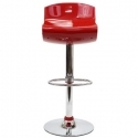 Dazzle Bar Stool in Red