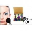 Groupon: Beauté Basics 36色眼影盘及迷你化妆套刷