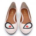 Fendi 芬迪女式休闲平底鞋