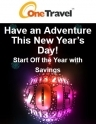 OneTravel: New Year Special Savings on Hotel, Flights and more