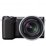 Sony NEX-5RK/B 微单相机,带18-55mm镜头