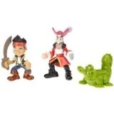 费雪 Fisher-Price Disney's Jake and The Never Land Pirates 海盗造型玩偶儿童玩具