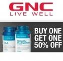 GNC 官网:GNC Total Lean CLA 买一件第二件半价优惠