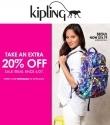 Kipling 官网:特价商品可享额外20% OFF 优惠