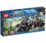 LEGO 乐高 Chima 70009 气功传奇系列狼武士的战穴