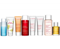 Free deluxe travel-size duo with $75 Clarins purchase