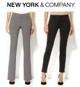 New York & Company: Buy 1 Get 1 FREE Pants