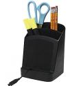 Staples® 带充电底座笔筒