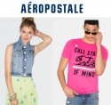 Aeropostale: 清仓特卖品最高70% OFF优惠 + 消费满$100立减$25
