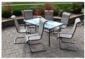 Elissa 庭院餐桌椅7件套