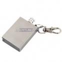 Meritline: 10,000 Strike Survival Match Oil Lighter Fire Starter with Key Chain