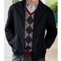 Jos A Bank 今日特卖:Wool Blend Bomber 男式混羊毛夹克