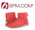 6pm: UGG Classic Mini 经典款踝靴 大童码反季折扣