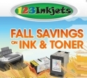 123Inkjets.com 官网限时促销:打印机兼容墨水可享15% OFF + 其他产品10% OFF 优惠