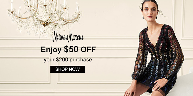 Neiman Marcus: Enjoy $50 OFF your $200 purchase