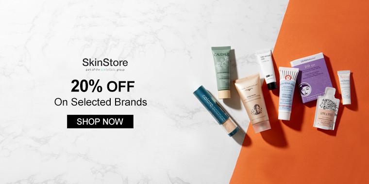 Skinstore: 20% OFF On Selected Brands