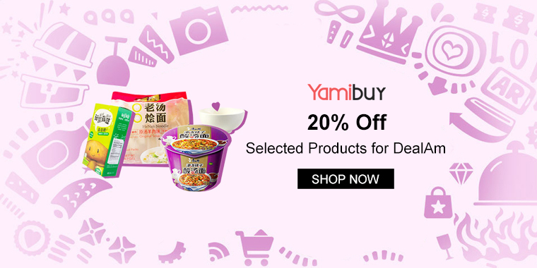 Yamibuy: 20% Off Selected Products for DealAm