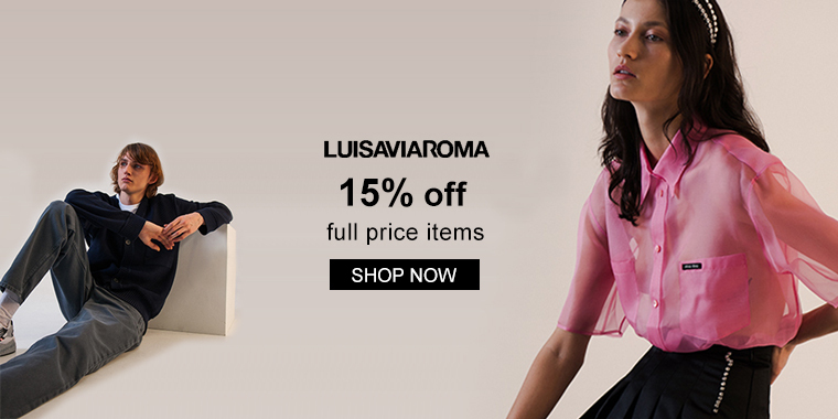 Luisaviaroma: 15% OFF Select Full Priced Items