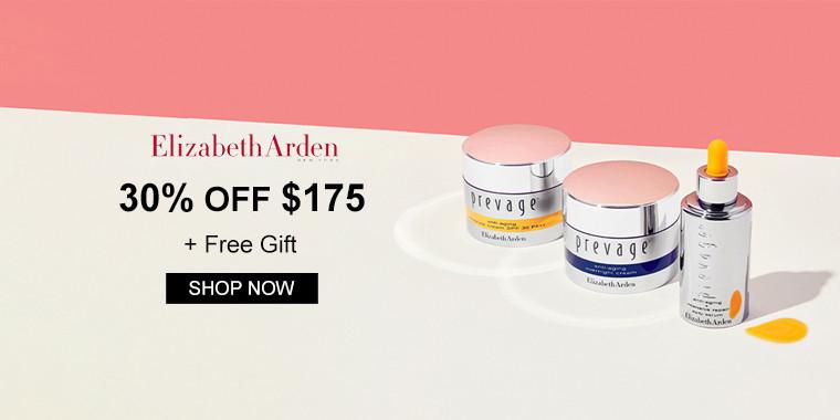 Elizabeth Arden: 30% OFF $175 + Free Gift