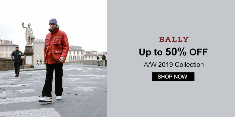 Bally:Up to 50% OFF A/W 2019 Collection