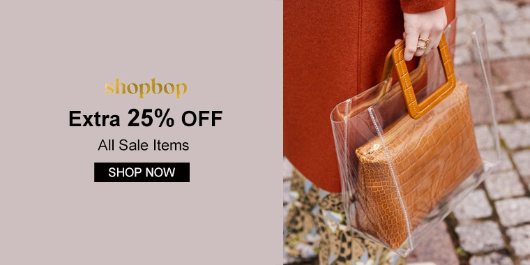 Shopbop: Extra 25% OFF All Sale Items