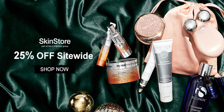 SkinStore: 25% OFF Sitewide