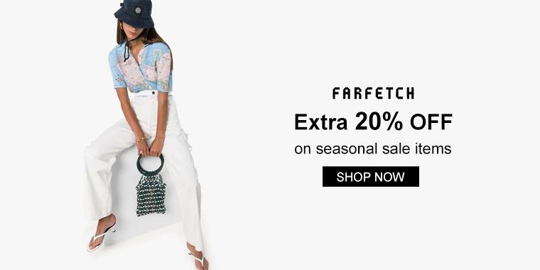 Farfetch: Extra 20% off on seasonal sale items